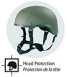 MSA Gallet combat safety helmets releasable assault vest Communication interface hearing eye respiratory protection France French Defense Company Industry
