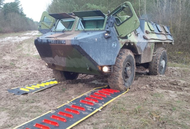 Mobile DFP Vehicle Recovery Mats Musthane Mustmove defence military army 640 001