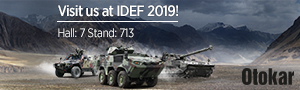 Visit OTOKAR armored vehicles manufacturer at IDEF 2019 Hall Stand 713