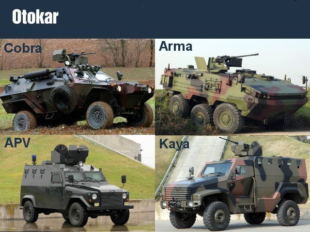 Otokar Defense Company Industry Armoured Vehicle Weapons
