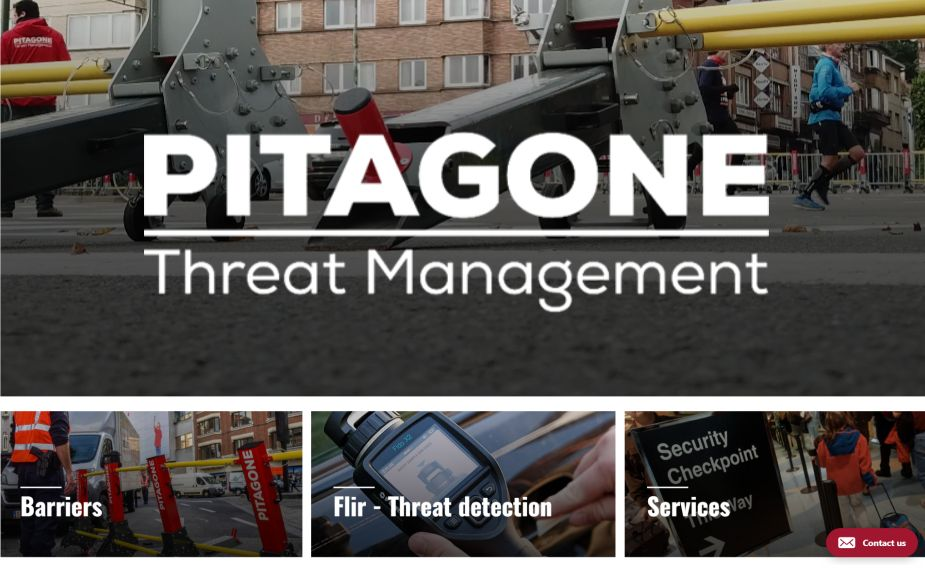 Pitagone Counter Terrorism security solutions products services Belgian security defense industry top 001