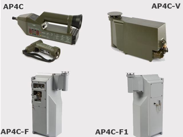 AP4C AP4C-V AP4C-F chemical monitoring detection system warfare agent anthrax sarin technical data sheet specifications information description intelligence identification pictures photos images video Proengin France French Defence Industry army military technology
