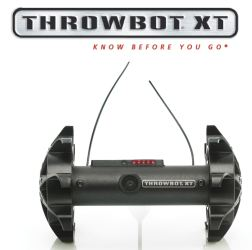 The Throwbot® XT is a throwable micro-robot that enables operators to obtain instantaneous video reconnaissance within indoor or outdoor environments. The TXT weighs 1.2 pounds (540g) and can be thrown up to 120 feet (36m). Once deployed, it can be directed to quietly move through a structure and transmit real-time video to the operator's handheld OCU. This video can be used to locate and identify subjects, confirm the presence of hostages, and reveal the layout of rooms. The TXT is equipped with an infrared optical system that automatically turns on when the ambient light is low, and it can transmit video up to 100 feet (30m) through walls, windows and doors to the OCU. The robot may be specified in any of three pre-determined transmitting frequencies, allowing users to operate up to three robots in the same environment at the same time. When used in tandem with a Recon Scout SearchStickTM, it can also function as a pole camera to facilitate the inspection of attics, rooftops and crawl spaces.