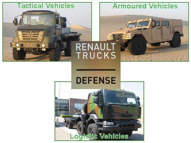 Renault Trucks Defense wheeled tactical logistic armoured armored vehicle army military special forces intervention personnel carrier battlefield surveillance defence industry company France French
