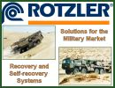 The German Company Rotzler, specialized in the design, manufacture and the distribution of military winches signed a contract with Army Recognition, which will ensure the promotion of the Rotzler Company and its products on Army Recognition web site.