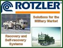 Winch winches recovery system military armoured vehicle Rotzler designer producer manufacturer distributor Germany German Defense Industry market army security rescue