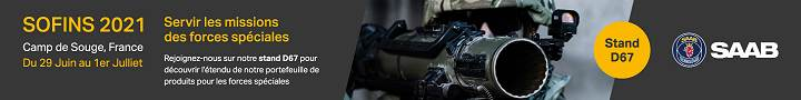 SAAB France latest technologies of military equipment for Special Forces