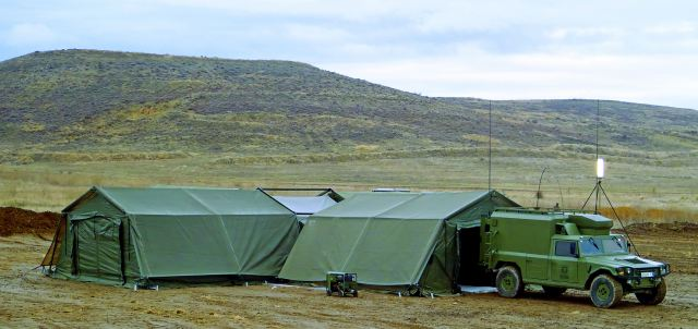 Military field c& NATO CBRN NBC COLPRO tent command posts Utilis data sheet specifications information description & Military field camp NATO CBRN NBC COLPRO tent command posts Utilis ...