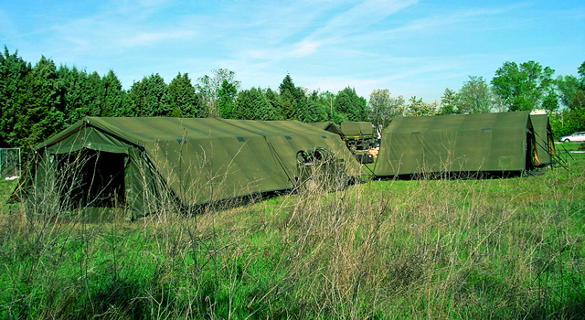 Military field camp NATO CBRN NBC COLPRO tent command posts Utilis data sheet specifications information description intelligence identification pictures photos images video France French Defence Industry army military technology