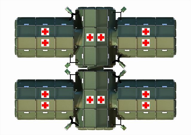Military Field Hospital Army Medical Humanitarian Tent