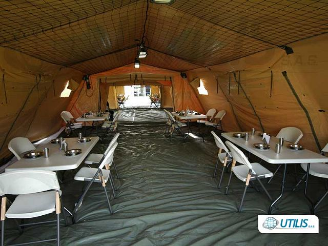 First Previous 1 / 1 Next Last & Military field camp NATO CBRN NBC COLPRO tent command posts Utilis ...