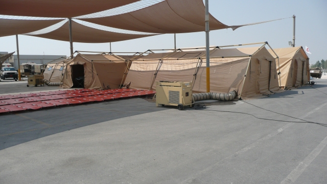 First Previous 1 / 2 Next Last & Field military army rapid deploy CBRN COLDPRO shelters tents ...