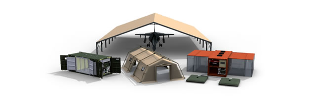 UTILIS Military Tent Shelter Field Camp Mobile Hangar