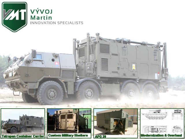 VÝVOJ Martin, a.s. is an advanced engineering company with more than 57 years of experiences. The portfolio includes products from defence technology, armored vehicles (Tatrapan, Tatrapan 8x8 Container Carrier, RG32 armored vehicle under license) and weapons for armed forces (CZ 75 P-07 DUTY, CZ SCORPION EVO 3 A1, and CZ 805 BREN A1 under license) and services.