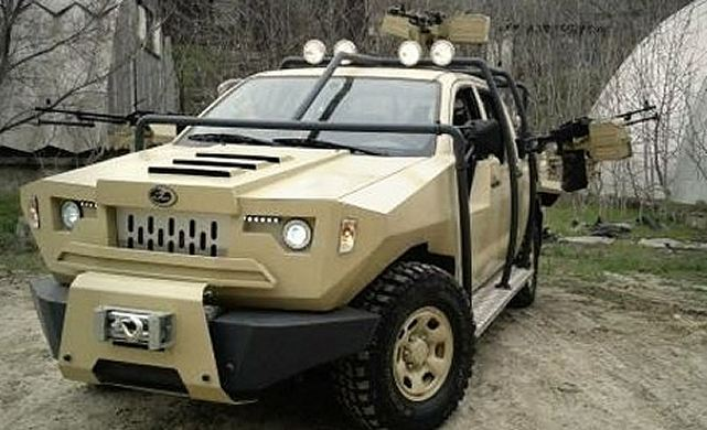 Azerbaijan-produced military vehicle will be demonstrated at an international exhibition for the first time in the history of the country's military-industrial complex. The Gurza military patrol vehicle designed by the Ministry of Defense Industry for security forces, will be exhibited at IDEF 2013 defence exhibition in Istanbul, Turkey between May 7 and 10.