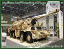 The Czech Company Excalibur Army presents at the International Exhibition of Defence and Security Technologies IDET 2011 a new upgrade version of the wheeled self-propelled howitzer DANA 152 mm, the DANA-M1 CZ.