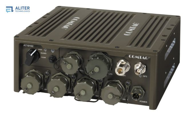 The AT10102 is a new version of a data control unit, which delivers the ability to create MANET Mobile Ad-hoc Networks in the environment of narrow band and broad band radio networks.
