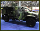 At IDET 2013, the defence exhibition currently held in Brno, Czech Republic, Czech Company VOP unveils on the Czech Army pavillon its newly delivered S-LOV-CBRN Light Armoured Vehicles System. It is based on a IVECO LMV chassis.