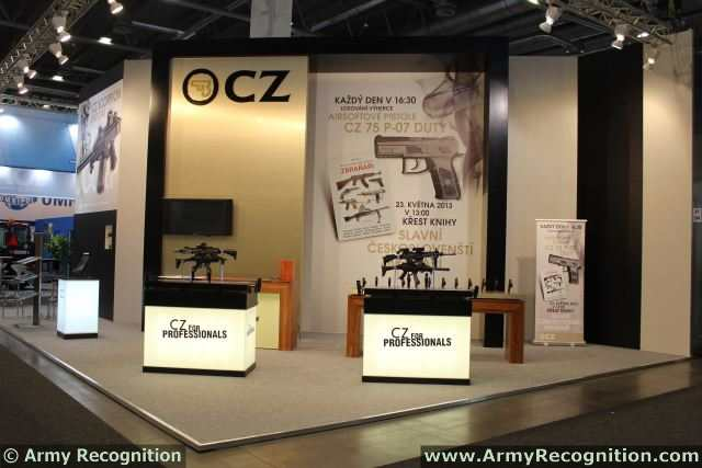 Ceská zbrojovka a.s. extends a cordial invitation to all visitors of 12th International Exhibition of Defence and Security Technologies IDET 2013 for visiting its Stand in Hall P No. 54. The fair will be held from 22nd to 24th May at the Brno Exhibition Centre.