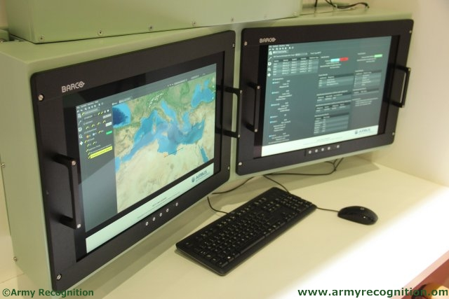 Ground Segment of NATO Alliance Ground Surveillance AGS System Developed by Retia at IDET 640 001