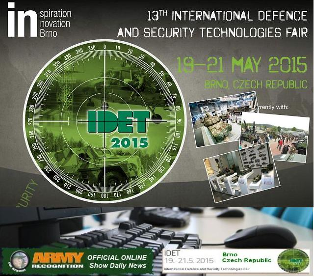 IDET 2015 organizers appointed Army Recognition as Official Online Show Daily News and Web TV 640 001