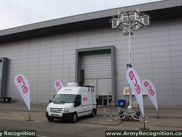 Silent Guard mobile demonstrator passive surveillance systems ERA IDET 2013 Czech Republic defence exhibition 001