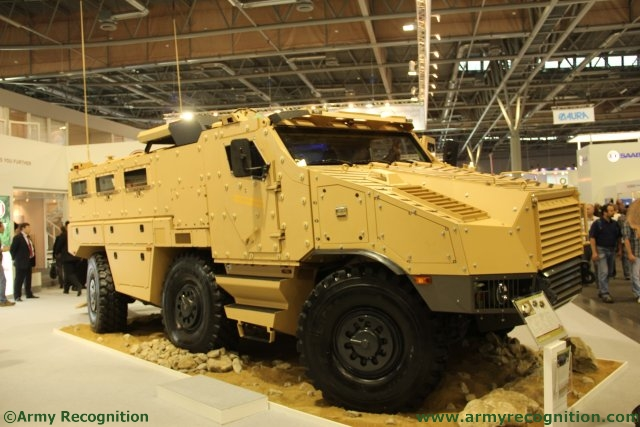 TATRA TRUCKS and NEXTER to present armored vehicle TITUS at IDET 2015 640 001