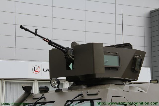 Upgraded Lacenaire s Oncilla armoured personnel carrier unveiled at IDET 2015 640 003