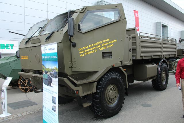 Defense Company TATRA from Czech Republic, one of the leader of military trucks producer presents the best protected tactical truck at IDET 2015, the International Exhibition of Defence and Security Technologies which takes place in BRNO (Czech Republic from the 19 to 21 May 2015.