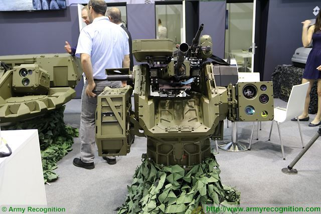 The Slovak Company EVPU presents a new type of remotely operated weapon station at IDET 2017, the International Defense Exhibition in Czech Republic. The Gladius Dual is a new concept of remote weapon station using two light weapons.