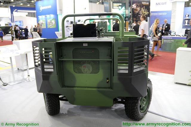Latest generation of TAROS UGV (Unmanned Ground Vehicle) from the Czech Company VOP showed at IDET 2017, the International Defence and Security Technologies Fair in Czech Republic. The vehicle was developed by VOP CZ in collaboration with its subsidiary Centre for Advanced Field Robotics (CAFR), and Tactical Department of the Faculty of Military Leadership of the University of Defence in Brno.
