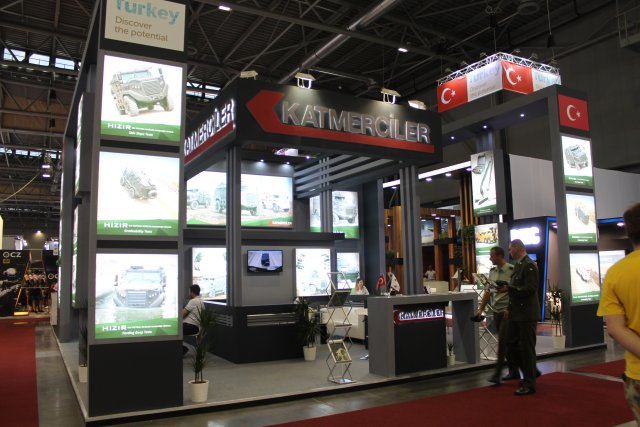 At IDET 2017, Katmerciler is presenting its innovative solutions for armed forces and security forces, with its wide defense portfolio of products, including armored combat vehicle, armored personnel carrier, armored ambulance and concealed armoring technology.