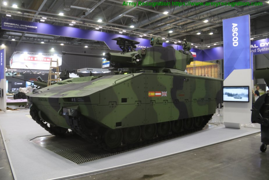 IDET 2019 General Dynamics presents the Ascod to replace the BMP 2 001