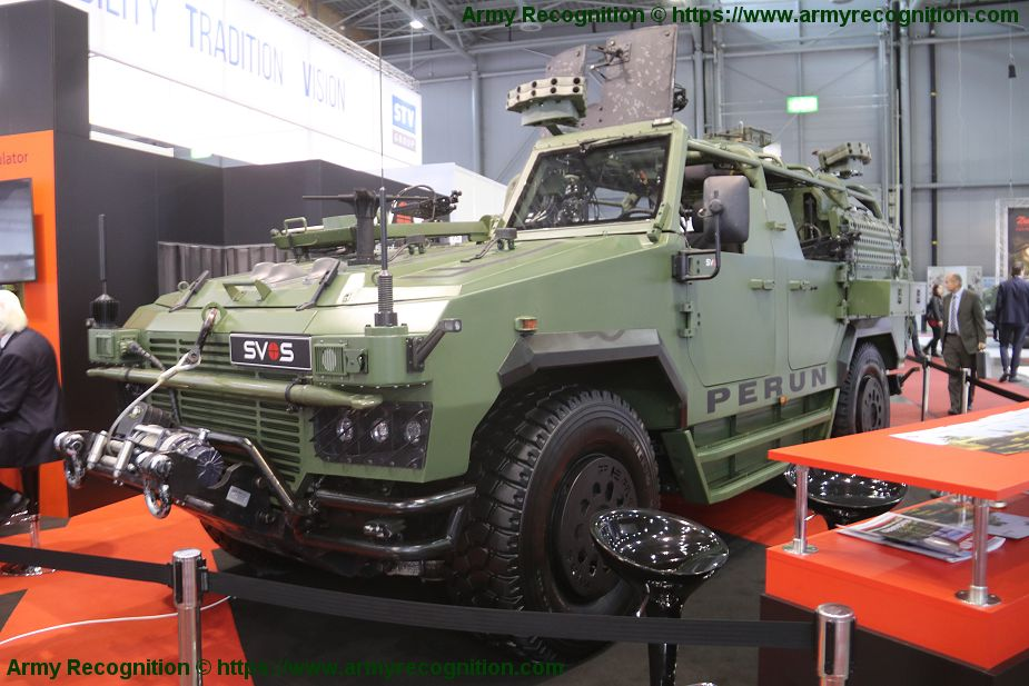 SVOS will deliver 4 Perun Light Strike Vehicle to Czech army Special Forces IDET 2019 925 001