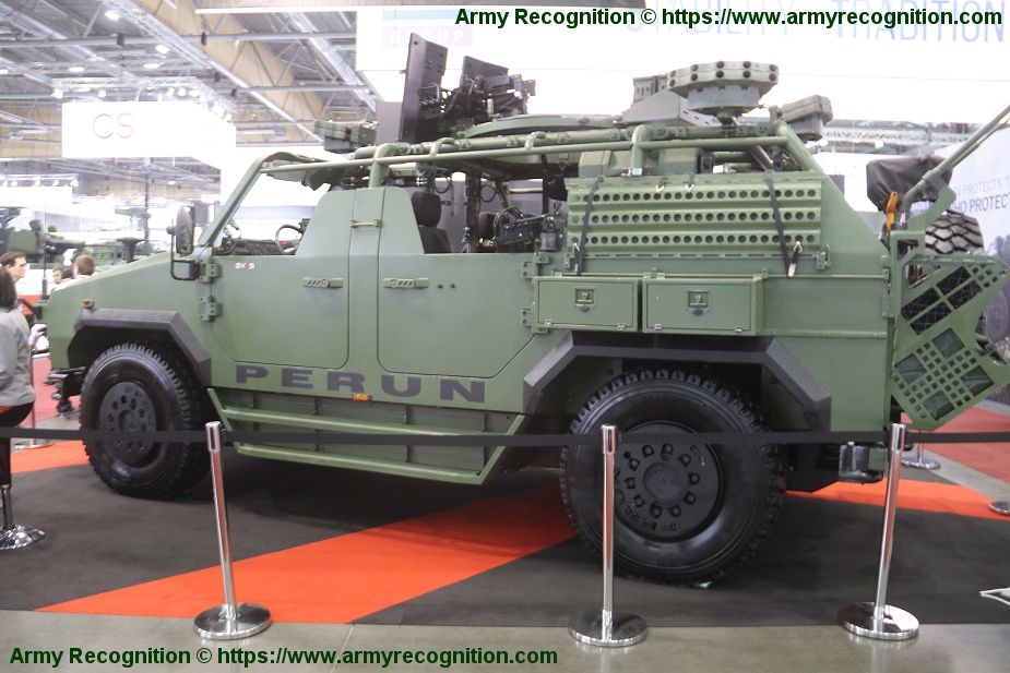 SVOS will deliver 4 Perun Light Strike Vehicle to Czech army Special Forces IDET 2019 925 002