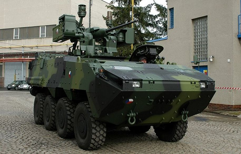 Pandur_II_wheeled_armoured_infantry_fighting_combat_vehicle_Steyr_General_Dynamics_Czech_Army_Republic_001.jpg