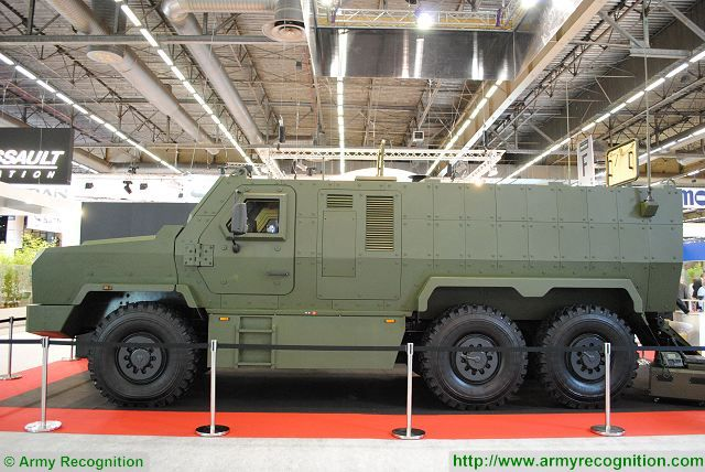 Vega SVOS 6x6 MRAP Armoured Vehicle Personnel Carrier