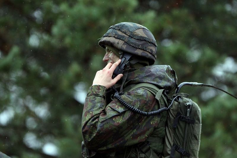 Lithuania Lithuanian Army ranks military combat field