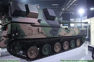 KRAB 155mm self-propelled howitzer tracked armored technical data sheet specifications pictures video description information photos images identification intelligence Poland Polish army industry military technology
