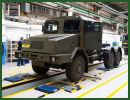 "July 17, 2014, the Polish Defense Company Jelcz unveils for the first time to the public a new familiy of 6x6 truck chassis especially designed for the development of new 155mm wheeled self-propelled howitzer, called ""Kryl"". This chassis will also be used for a new multiple launch rocket system, the ""Omar""."
