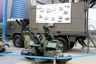 Command Post truck Pilica air defense system technical data sheet pictures video specifications description information photos images identification intelligence Poland Polis army industry military technology