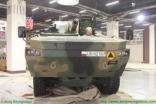 RAK 120mm 8x8 self-propelled carrier armoured vehicle technical data sheet specifications pictures video description information photos images identification intelligence Poland Polish army industry military technology