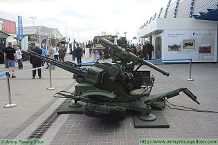 ZUR-23-2SP anti-aircraft 23mm cannon missile system technical data sheet pictures video specifications description information photos images identification intelligence Poland Polis ZMT army industry military technology