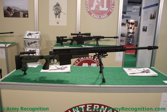 British Company Accuracy International at MSPO 2011 with a