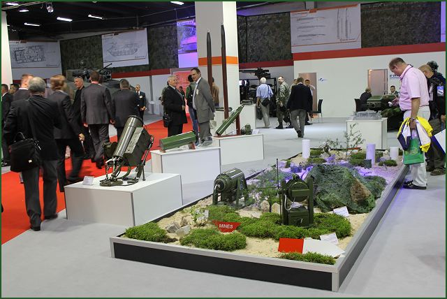 Exhibition Booth Management : Bumar ammunition a wide range of anti tank mines at mspo