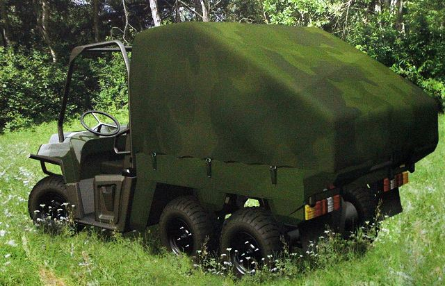 "The Manpads missile system ""KUSZA"" is mounted on the off-road vehicle, Polaris Ranger 6x6, which enables to take a battle position in almost any terrain conditions. Simple small size and rugged construction allows changing quickly the deployment position with use of various transport platforms."