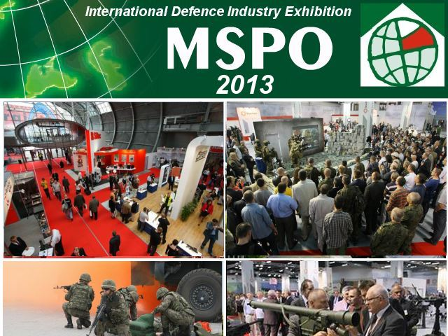 MSPO 2013 pictures photos images video gallery International defence industry exhibition Kielce Poland military technology