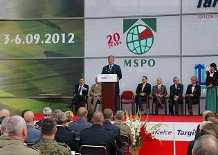 MSPO 2013 defense industry official show daily news International Defence Industry Exhibition exhibitors visitors program pictures video military information Kielce Poland actualités salon internationale militaire industries de défense photos images Pologne
