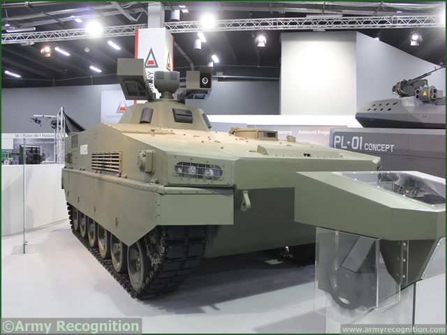 At MSPO 2013, International Defense Exhibition in Poland, Obrum member of Polish Defence Holding presented its Anders platform at MSPO 2013. Fitted with Obrum Sensor Unit and Obrum Amur (Autonomous Rocket Weapon) System this platform can engage air and ground vehicles.
