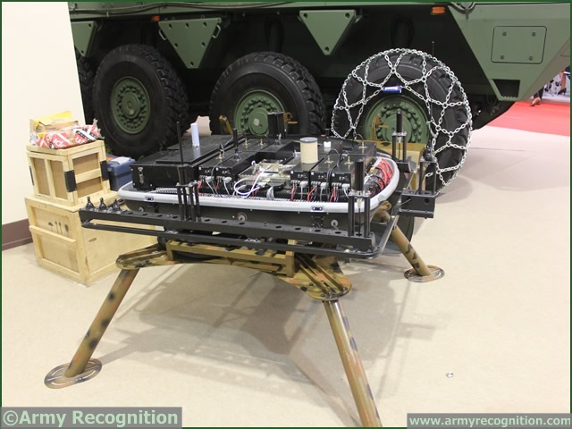 At MSPO 2013, International Defense Exhibition in Poland, Polish manufacturer WZM showcased a mobile jammer unit for VIP. Mounted on a truck roof the Mobile Jammer BJ VIP-300X2v4KV is intended to protect surfaces from radio controlled bomb.